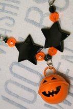 Halloween Jack o' Lantern Jingle Bell Necklace - $18.00