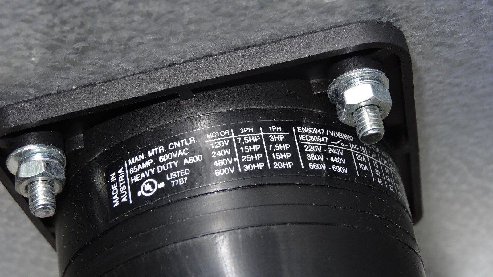 Kraus Naimer Cad11    C42 65 Amp 600vac And 50 Similar Items