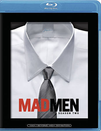 Mad Men - Complete Second Season 2 (Blu-ray Disc 2009, 3-Disc Set) NEW TV Series
