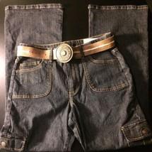 Arizona Jean Company Jeans W/Belt Womans Size 16 Bin#7 - $14.95