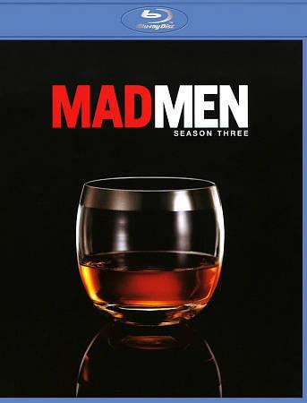 Mad Men: Complete Third Season (Blu-ray Disc, 2010, 3-Disc Set) New TV Series