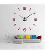 【Vintage Wall Clock】Vintage Wall Clock Modern Design Large Diy Acrylic C... - $24.90