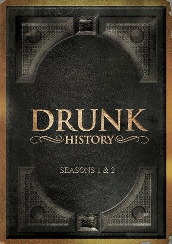 Drunk History: Complete First & Second Season 1 & 2 (DVD Set) New TV Series
