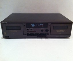 Sony TC-WR521 Stereo Cassette Deck Double Tape Player - $245.00