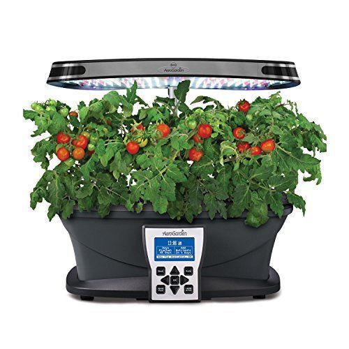 Home Led Garden Indoor Water Salad Grow Screen Light Gourmet Herb Seed Pod Kit Hydroponic Systems
