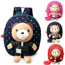 New Cartoon Kids School Backpack Canvas Boys Gi... - $9.45