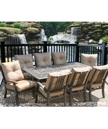 9PC DINING SET FOR 8 PERSON WITH 44X84 RECTANGLE SERIES 2000 TABLE  - $4,678.74