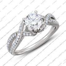 New fashion 925 sterling silver attractive engagement wedding ring for women's - $72.88