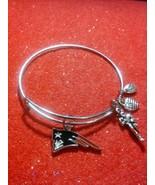 New England Patriots NFL Logo Silver Wire Expandable Bracelet - $9.99