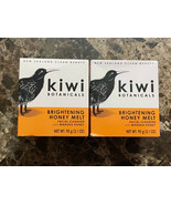 Kiwi Botanicals. Brightening Honey Melt Cleanser , 3.1 oz Lot Of 2 - $27.71