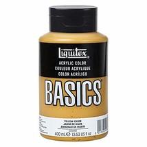 Liquitex BASICS Acrylic Paint, 13.5-oz bottle, Yellow Oxide - $17.59