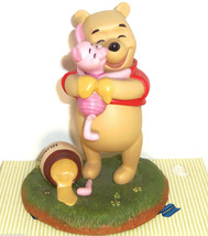 Disney Winnie the Pooh Piglet Figurine A Good Friend Sticks to You Like ... - $14.95
