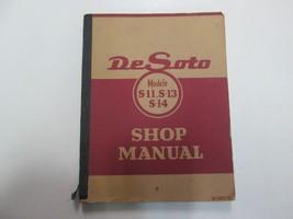 1950 Chrysler De Soto Models S11 S13 S14 Shop Manual Wear Damaged Factory Oem 50 - $59.39