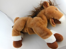 """Awesome Russ Berrie Derby Horse Puppet 11"""" x 12"""" Plus 7"""" Tail - $14.30"""