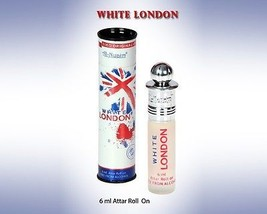 Al Nuaim White london 6ml Attar Perfume Oil Alcohol Free Natural Fragran... - $10.25