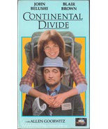 Continental Divide VHS John Belushi Blair Brown... - $1.99