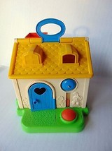 Fisher Price Activity Discovery House / Cottage - Pretend Play 1984 - #136 - $19.04