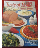 Taste of Home Annual Recipes Hardcover Book 2001 - $6.99