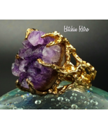 Panetta Sterling Vermeil Amethyst Cluster Ring ... - $279.00