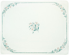 Corelle 15 X 12 Rosemarie Counter Saver Tmpered Glass Cutting Board 91512ROSH - $32.99