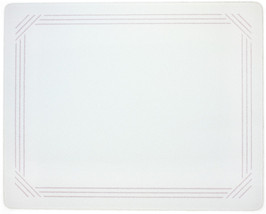 Vance 20 X 16 Gray Border Surface Saver Tempered Glass Cutting Board, 82... - $39.99
