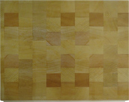 Vance 11 in. x 14 in. 1-3/16 inch Beech End-Grain Chopping Block | 8CB1114 - $49.99