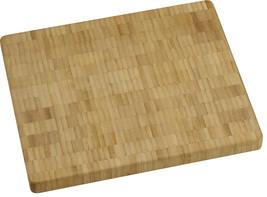 Vance 10 in. x 12 in. 1 inch Bamboo End-Grain Chopping Block | 81012B - $42.99