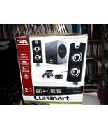 computer  speakers cyber  acustics  ca-3602,   - $14.99