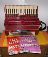 120 Bass Bertini Lux Accordion A1 Condition All Original With Case - $800.00