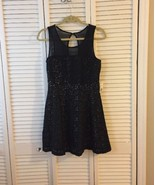 NWT Forever 21 Black Lace Dress Size M - $19.79