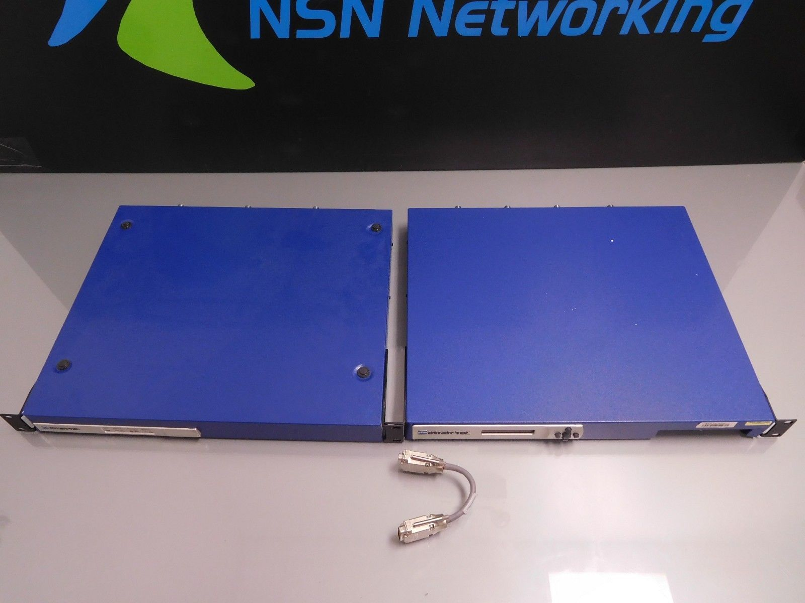 Inter-Tel 5000 System 580-1000 with PM-1 Card 580.2000 Rack Ears Intertel Mitel