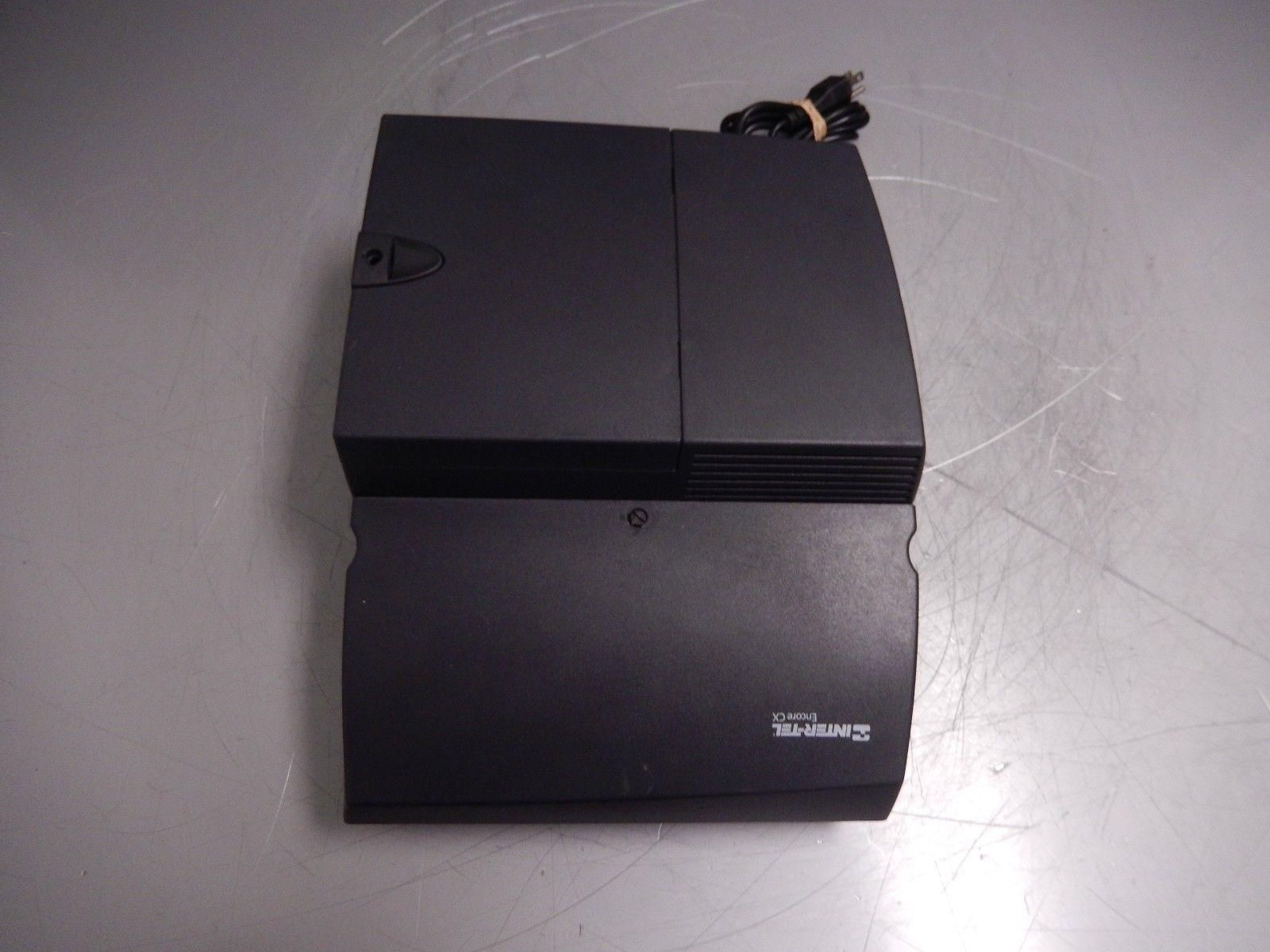 Inter-Tel Mitel 3000 Encore CX Phone KSU 20hr Voice Mail 618.5018 2x CO Modules image 3