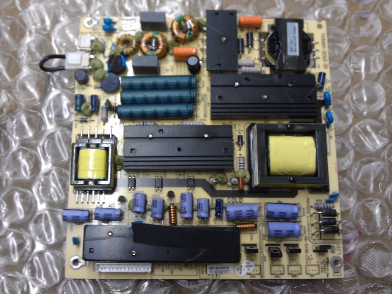 TV5001-ZC02-01 Power Supply Board From Proscan PLDED5066A-C LCD TV