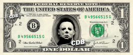 MICHAEL MYERS Friday the 13th on REAL Dollar Bill Cash Money Collectible... - $7.77