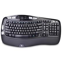 Logitech K350 2.4GHz 102-Key Wireless Multimedia Wave Keyboard w/USB Uni... - $730,86 MXN