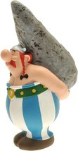 Obelix plastic Menhir figurine money bank Plastoy Official Asterix collection image 2