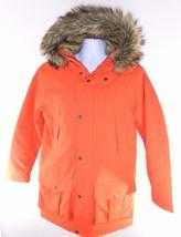 Timberland 8141J-802 Waterproof Men's Orange Hooded Parka - $84.69