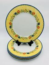 "Set Of 4 Studio Nova French Chateau HD001 Dinner Plates 10.5"" - $39.59"