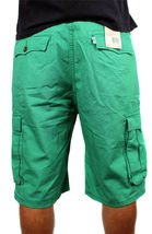Levi's Men's Premium Cotton Cargo Shorts Original Relaxed Fit Green 124630032 image 4