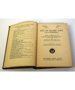 1928 Book Art in Home and Clothing Fashion Color Design Decoration M. Tr... - $18.99