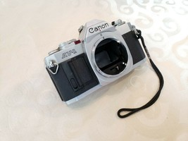 Canon AV-1 35mm SLR Film Camera . - $45.00