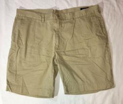 Mens Polo Ralph Lauren Khaki Chino Shorts Classic Fit Size 40 - $12.79