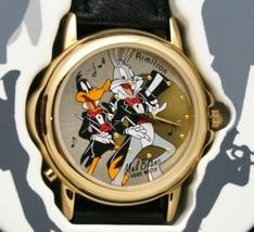 Daffy Duck - Bugs Bunny Watch Looney Tunes Mel Blanc Voice 36mm Watch Vi... - $138.55
