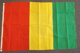 "GUINEA 3X5' FLAG NEW 3'X5' 3 X 5 FEET 36X60"" BIG - $9.85"