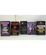 Lot of 5 Books on Cassette Audio Stories by Stephen King - $35.05