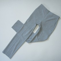 NWT Ann Taylor Side-zip Straight Trouser in Grey Pinstripe Bi-stretch Pa... - $32.00