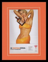 2003 Cointreau Triple Sec Framed 11x14 ORIGINAL Vintage Advertisement - $32.36