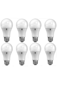 GE LED Daylight (8 Bulbs) Lighting 67605 and 61971 Dimmable LED A19 800 ... - $35.88