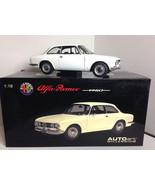 AutoArt 1967 Alfa Romeo 1750 DIECAST MODEL SCALE 1:18 - $239.50