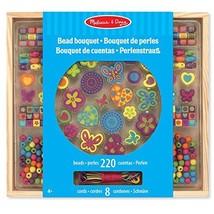 Melissa & Doug 14169 Wooden Bead Bouquet Toy  - $20.00